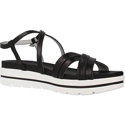Sandalo 100 Donna P805850d Incrociate Giardini Un Nero Fascie 4F8aqAwOwx