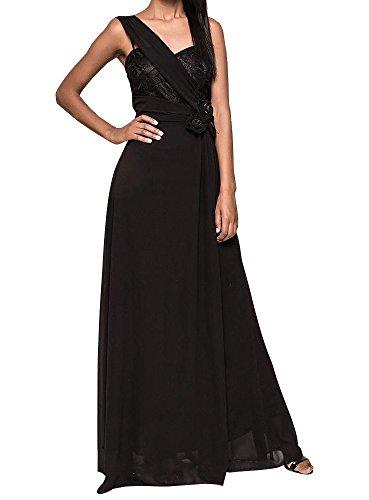 Soirée Noir Pour Boutique magique Robe Demoiselle De D'honneur FemmeMariage Longue Nwvm8yO0n