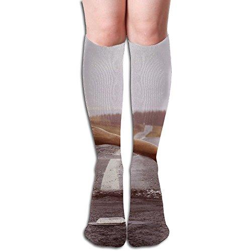 Long Stocking Swimming Women's Over Knee Thigh Winter Warm Sexy Stocks Knitting Welt -