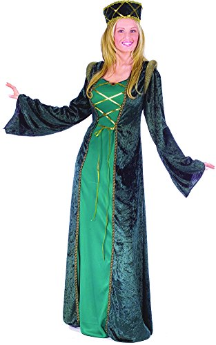 Fun World Women's Lady in Waiting Adult Costume, Multi, Medium/large ()