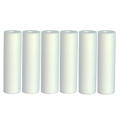 Aquaboon 1 Micron Sediment Water Filter Cartridge 6 Pack