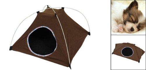 Jardin Pet Foldable Tent, 22cm, Coffee by Jardin (Image #2)