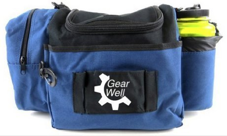 Gear Well 12 Disc Disc Bag - Lightweight and Durable - Perfect Disc Golf Bag for Beginner and Experienced Disc