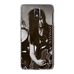 JohnPrimeauMaurice Samsung Galaxy Note3 Protector Hard Phone Covers Unique Design Colorful Black Veil Brides Band BVB Image [tyI18832jqQT]