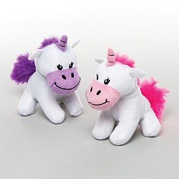 Baker Ross Bonitos unicornios de peluche para niños ...