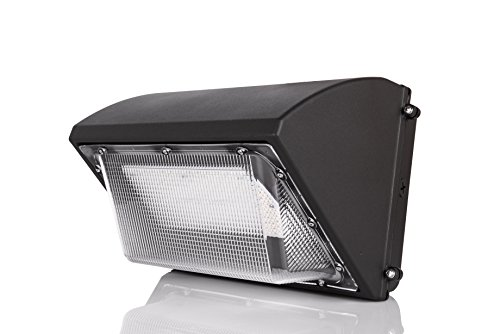 Hyperikon LED Wall Pack 70W Fixture, 275-350W HPS/HID Replacement, 5000K, Commercial and Industrial Outdoor Lighting, IP65 Waterproof - DLC & (70w Hps)