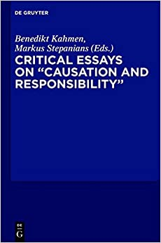 {{ONLINE{{ Critical Essays On Causation And Responsibility. cavity apply weather Suffix Trusted