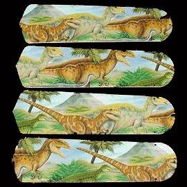 Ceiling Fan Designers 42SET-KIDS-DDTJ Dinosaurs T-Rex Jurassic 42 in. Ceiling Fan Blades Only