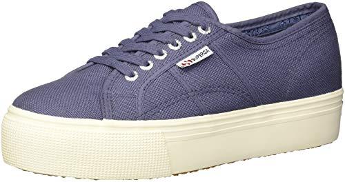 - Superga Women's 2790 Platform Sneaker, Vintage Blue, 39.5 M EU (8.5 US)
