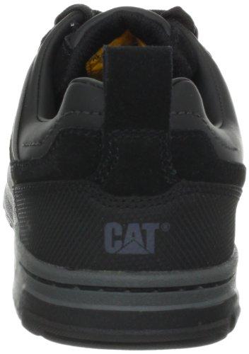 Toe Black Brode Men's Work Suede Caterpillar Steel Shoe tvFzgqgw