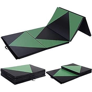 Amazon.com : Leapair PU Leather Tri-Fold 2-Inch Thick ...