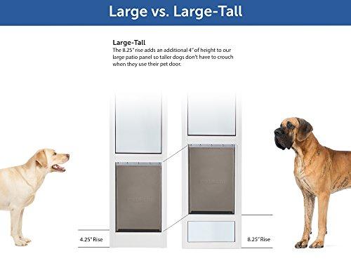 Petsafe Freedom Aluminum Patio Panel Sliding Glass Dog And