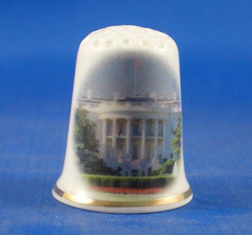 En porcelaine anglaise de collection avec dé blanc House Amérique