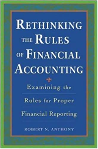 Buy Rethinking the Rules of Financial Accounting Book Online at Low
