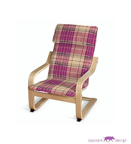 Saustark Design saustark design edinburgh cover for ikea poäng children s armchair