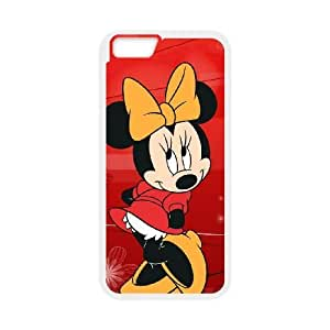 iphone6 plus 5.5 inch White phone case Disney Cartoon Characters Minnie Mouse DMU5268846