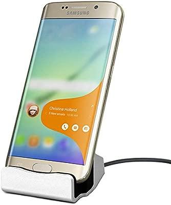 EX1 Micro USB Cargador Dockstation Estación de Muelle Soporte para Samsung Galaxy S4/S5/S6/S6 Edge/S6 Edge Plus/S7 Edge/Note 3/Note 4/Note 5, HTC One, ...