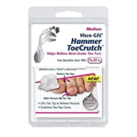 Pedifix Visco GEL Hammer Toe Crutch Item # 1037-M Medium 4 Total SMARTGEL TECH