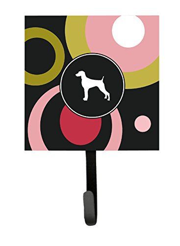 Caroline's Treasures KJ1063SH4 Weimaraner Leash Holder or Key Hook, Small, Multicolor (Weimaraner Leash Hook)