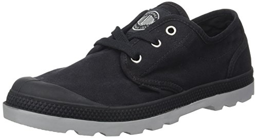Palladium Us Oxford Lp F - Botas Mujer Negro (Black/wild Dove)
