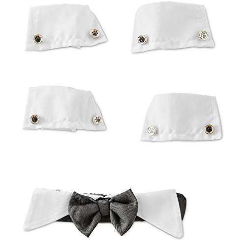 You & Me Dog Bow Tie & Cuff Set, - Dog Cuff