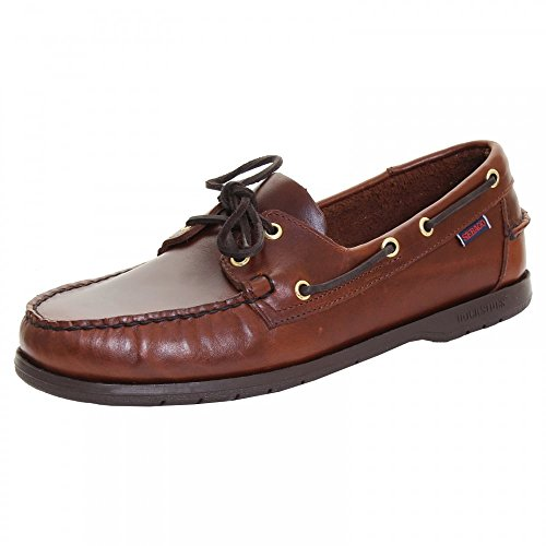 Sebago Endeavor Mens Classic Boat Shoe 5.5 W Brown