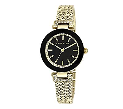 Anne Klein Goldtone Crystal Watch