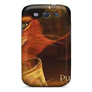 JbwwVhN4947CXZeG Faddish Puss In Boots Cartoons Case Cover For Galaxy S3