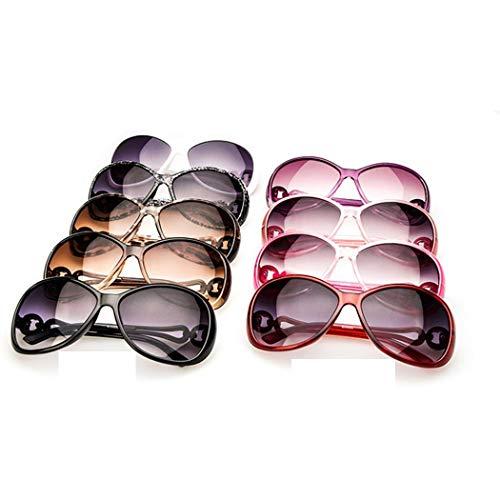 Dongtu Women Fashion Oval Shape UV400 Framed Sunglasses Sunglasses
