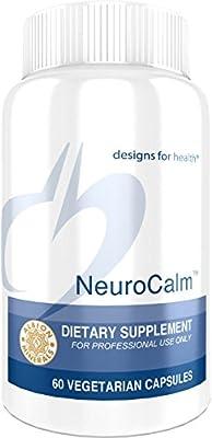 Designs for Health - NeuroCalm - GABA + Serotonin Support Formula + 5-HTP + Inositol + Taurine