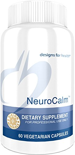 Designs for Health - NeuroCalm - GABA + Serotonin Support Formula + 5-HTP + Inositol + Taurine, 60 Capsules by designs for health