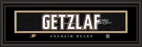 Prints Charming Anaheim Ducks Getzlaf Framed Posters 22x6 Inches