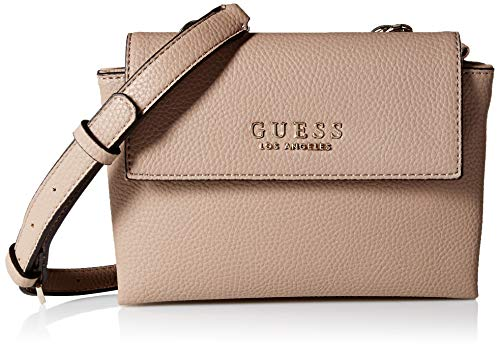 GUESS Heidi Mini Crossbody Flap, taupe
