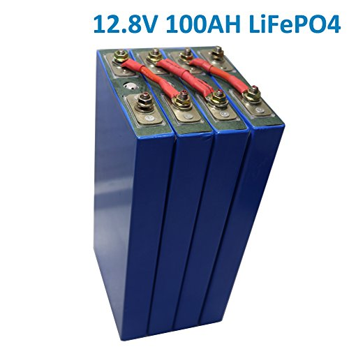 12V 100Ah lithium iron LiFePO4 Battery For EV, Car Audio System, Solar system, Electric boat, RV, Camping, Light Weight Small size (Compare with lead acid battery) Contain 4S 3.2V 100Amps Batteries