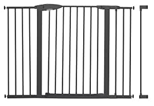 Munchkin Easy Close Tall and Wide Metal Safety Gate with 4 Extensions (Discontinued by Manufacturer)
