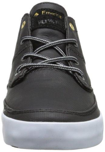 homme Troubadour Baskets Mns Noir mode Emerica Grey Black q1gIx