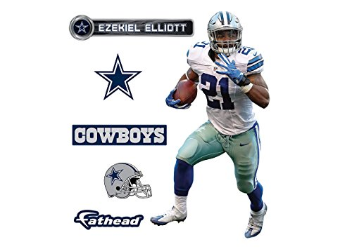 NFL Dallas Cowboys Ezekiel Elliott Fathead Teammate (Dallas Cowboy Door)
