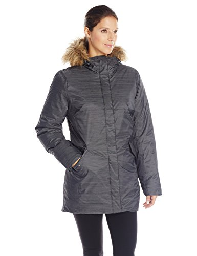 Helly Hansen Women's Hilton 2 Parka Insulated Jacket, Black, Medium