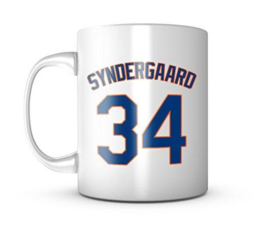Noah Syndergaard Mug - Jersey Number Baseball Coffee Cup