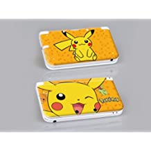 Nintendo 3DS XL POKEMON Protective Vinyl Skin Decal Set