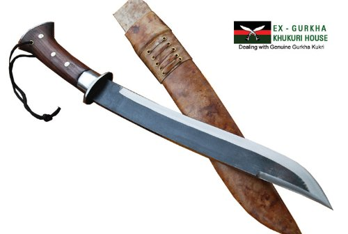 14 Blade Rust Free Nepalese Chhuri Knife – Full Tang Gurkha Khukuri or Kukris – Handmade By Ex Gurkha Khukuri House in Nepal