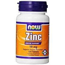Now Zinc Gluconate (50mg) 100 tabs