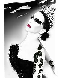 Dark Swan Glitter Professional Eye Make up Costume Accessory