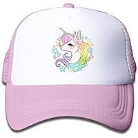 Waldeal Cute Unicorns Kids Girls Mesh Cap Trucker Hats Adjustable Baseball Cap