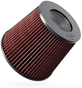 K&N Universal Clamp-On Air Filter: High Performance, Premium, Washable, Replacement Filter: Flange Diameter: 6 In, Filter Height: 7.5 In, Flange Length: 1.125 In, Shape: Round Tapered, RC-5179