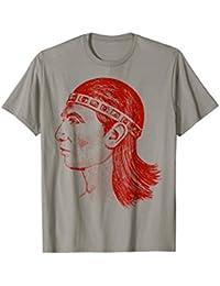 Honduras Indio Lempira T-shirt. Camisas Catrachas
