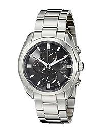 Citizen Men's Eco Drive Titanium Watch CA0020-56E