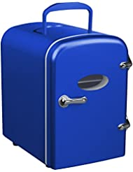 Curtis Mini Compact Refrigerator (Blue)