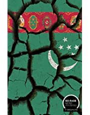 TURKMENISTAN: A LINED NOTEBOOK & JOURNAL: An Awesome Turkmenistan Notebook With Lined Interior - Great Gift For Travel Lovers