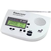 Unique 200 Hours Back-up Battery Life Time (Standby), Reecom R-1630 SAME Weather Alert Radio (Light Grey), Display Event Message and Effective Time At a Glance, EOM Detection, 25 Event Memories